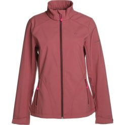 Bomberki damskie: Schöffel JACKET TARIJA Kurtka Softshell dark red