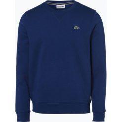 Lacoste - Męska bluza nierozpinana, niebieski. Niebieskie bejsbolówki męskie Lacoste, l, z aplikacjami. Za 399,95 zł.