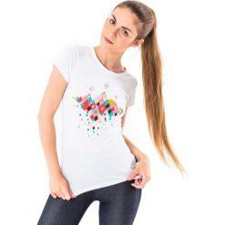 MARTES Koszulka Hi-Tec LADY HUBEL biała r. XL. Białe topy sportowe damskie marki MARTES, xl. Za 26,40 zł.