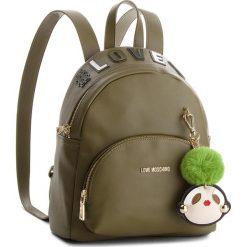 Plecak LOVE MOSCHINO - JC4072PP16LK0850  Verde. Zielone plecaki damskie Love Moschino, ze skóry ekologicznej, klasyczne. Za 959,00 zł.
