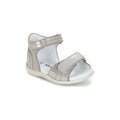 Sandały Dziecko  Kickers  BALNEO. Niebieskie sandały dziewczęce marki Kickers, z kauczuku, na sznurówki. Za 202,30 zł.