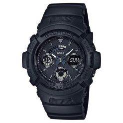 Zegarek Casio Męski AW-591BB-1AER Black G-Shock czarny. Czarne zegarki męskie CASIO. Za 423,75 zł.