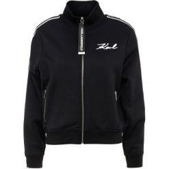 KARL LAGERFELD Bluza rozpinana black. Czarne bluzy rozpinane damskie KARL LAGERFELD, xs, z bawełny. Za 949,00 zł.