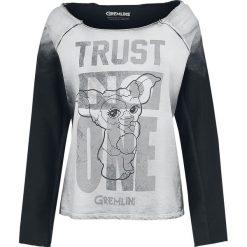 Bluzy damskie: Gremlins Trust No One Bluza damska biały (Old White)/szary