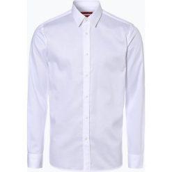 Koszule męskie na spinki: HUGO - Koszula męska łatwa w prasowaniu – Elisha01, czarny