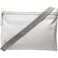 """Skórzana torebka """"Vora 2"""" w kolorze szarym - 26,5 x 20,5 x 6 cm. Szare torebki klasyczne damskie BREE, w paski, z materiału. W wyprzedaży za 318,95 zł."""
