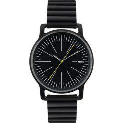 Zegarki męskie: Zegarek l'orologio męski ze stalową bransoletą czarny