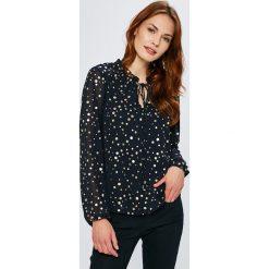 Vero Moda - Bluzka. Czarne bluzki z odkrytymi ramionami marki Vero Moda, l, z materiału. Za 149,90 zł.