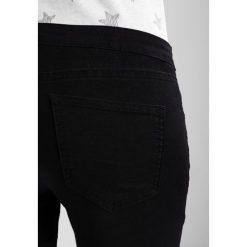 Boyfriendy damskie: Zalando Essentials Maternity Jeans Skinny Fit black denim
