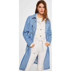 Płaszcze damskie pastelowe: Mango - Płaszcz Trench