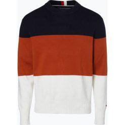 Swetry klasyczne męskie: Tommy Hilfiger - Sweter męski, niebieski