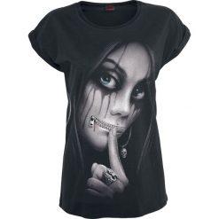Spiral Zipped Koszulka damska czarny. Czarne t-shirty damskie Spiral, l. Za 74,90 zł.