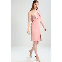 Sukienki hiszpanki: Bardot RUFFLE DRESS Sukienka koktajlowa pastel
