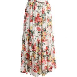 Abercrombie & Fitch PRINT Długa spódnica white. Białe długie spódnice Abercrombie & Fitch, xs, z bawełny. Za 349,00 zł.