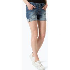 Odzież damska: Please – Damskie krótkie spodenki jeansowe, niebieski