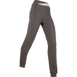 Spodnie sportowe, długie, Level 1 bonprix szary-matowy srebrny. Szare spodnie sportowe damskie bonprix. Za 59,99 zł.
