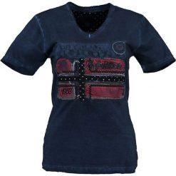 """T-shirty damskie: Koszulka """"Jarlotte"""" w kolorze granatowym"""