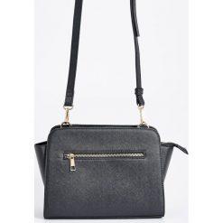 Torebka na ramię - Czarny. Czarne torebki klasyczne damskie marki B'TWIN, z materiału. Za 49,99 zł.