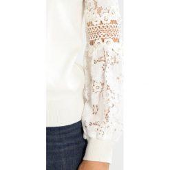Swetry klasyczne damskie: Navy London MACI Sweter white