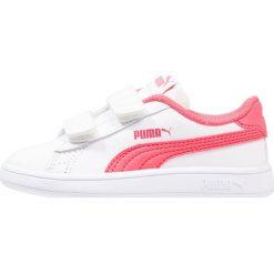 Puma SMASH V2 L V INF Tenisówki i Trampki white/paradise pink. Czarne trampki dziewczęce marki Puma. Za 129,00 zł.