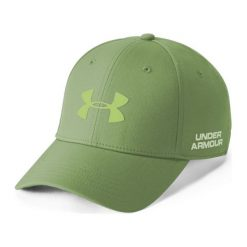 Czapki z daszkiem męskie: Under Armour Czapka męska Men's Golf Headline 2.0 Cap zielona r. L/XL (1305018-707)