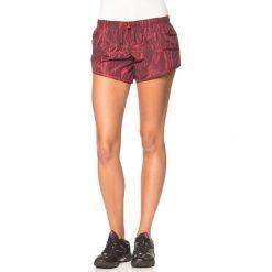 Szorty damskie: Funkcyjne szorty w kolorze bordowym