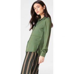 Koszule wiązane damskie: Rut&Circle Koszula Penny – Green