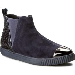 Sztyblety GEOX - D Amalthia F D641MF 021PV C4021 C. Morski. Niebieskie buty zimowe damskie Geox, z lakierowanej skóry. W wyprzedaży za 259,00 zł.