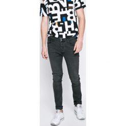 Bench - Jeansy. Szare jeansy męskie skinny Bench, z bawełny. W wyprzedaży za 119,90 zł.