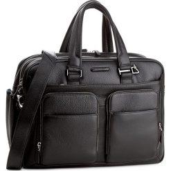 Torba na laptopa PIQUADRO - CA2765MO/N Czarny. Czarne plecaki męskie Piquadro, ze skóry. Za 2199,00 zł.