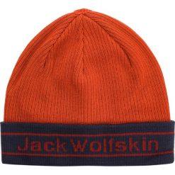 Czapka JACK WOLFSKIN - Pride Knit Cap 1907261 Mexican Pepper. Czerwone czapki z daszkiem męskie Jack Wolfskin. Za 85,99 zł.
