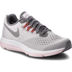 Buty NIKE - Zoom Winflo 4 898485 010 Atmosphere Grey/Gunsmoke. Szare buty do biegania damskie marki Nike, z materiału, nike zoom. W wyprzedaży za 309,00 zł.