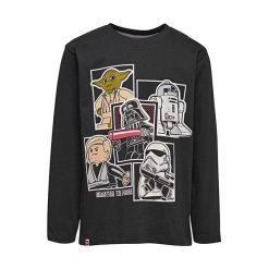 """T-shirty chłopięce z długim rękawem: Koszulka """"M-72362"""" w kolorze czarnym"""