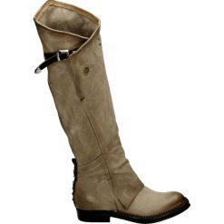 Kozaki - 250313 CAR-TM. Brązowe buty zimowe damskie Venezia, ze skóry. Za 999,00 zł.