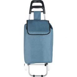 """Shopper bag damskie: Torba """"Clichy"""" w kolorze ciemnoszarym na zakupy – 35 x 95 x 28 cm"""