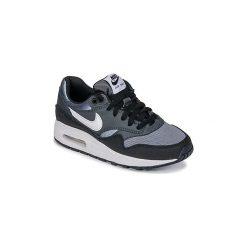 Buty Dziecko Nike  AIR MAX 1 GRADE SCHOOL. Czarne trampki chłopięce Nike. Za 395,10 zł.