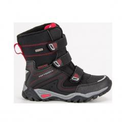 Buty dziecięce śniegowce czarne r. 33. Czarne buciki niemowlęce American CLUB, na zimę. Za 161,92 zł.