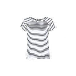 T-shirty z krótkim rękawem Vero Moda  ESTER. Niebieskie t-shirty damskie marki Vero Moda, z bawełny. Za 71,20 zł.