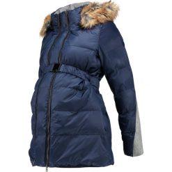Płaszcze damskie pastelowe: bellybutton JACKET 1/1 SLEEVES HOOD Płaszcz zimowy black iris/blue