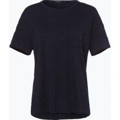 Marc O'Polo - T-shirt damski, niebieski. Niebieskie t-shirty damskie Marc O'Polo, l, polo. Za 139,95 zł.
