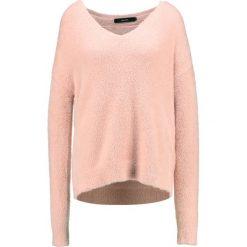 Swetry klasyczne damskie: Vero Moda Tall VMMORAGA LS VNECK Sweter rose cloud