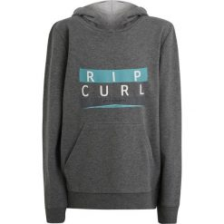 Rip Curl CAVERN HOODED  Bluza z kapturem gray marl. Szare bluzy chłopięce rozpinane marki Rip Curl, z bawełny, z kapturem. Za 169,00 zł.
