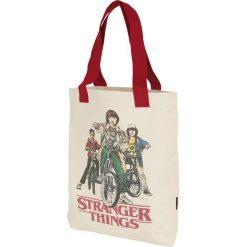 Stranger Things Loungefly - The Squad Torba zakupowa wielokolorowy. Szare torebki klasyczne damskie Stranger Things, z nadrukiem, z nadrukiem. Za 121,90 zł.