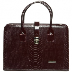 Grosso Bag Torebka Damska Brązowy. Brązowe torebki klasyczne damskie Grosso Bag, ze skóry. Za 195,00 zł.