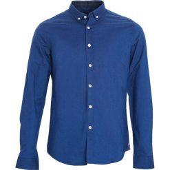 Ciemnoniebieska Koszula Fixed. Czarne koszule męskie marki Born2be, l, z aplikacjami, z dresówki. Za 79,99 zł.