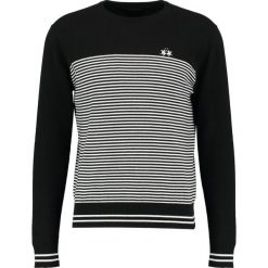 La Martina MAN CREW NECK Sweter bicol optwhite/black. Czarne kardigany męskie La Martina, l, z bawełny. W wyprzedaży za 347,40 zł.