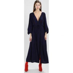 Długie sukienki: NAKD TIED SLEEVE COAT DRESS Długa sukienka midnight blue