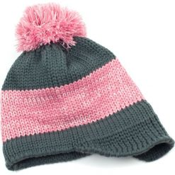 Czapka damska Casual winter szaro różowa. Czerwone czapki zimowe damskie Art of Polo. Za 30,84 zł.