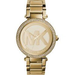 Michael Kors PARKER Zegarek goldcoloured. Żółte zegarki damskie marki Michael Kors. W wyprzedaży za 935,20 zł.