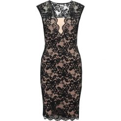Swing Sukienka koktajlowa black/beige. Czarne sukienki koktajlowe marki Swing, z elastanu. Za 419,00 zł.